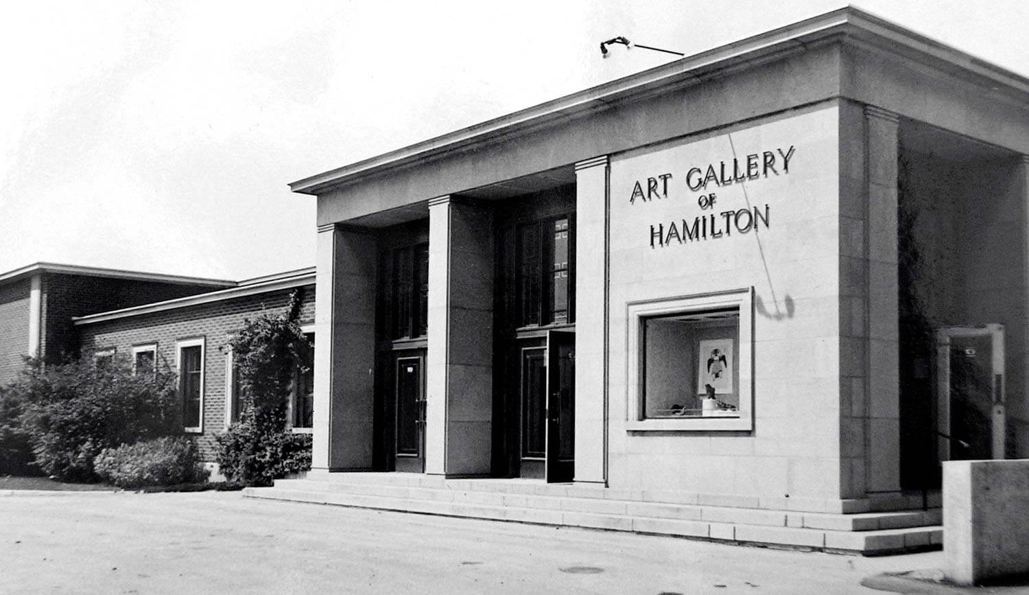 Art Gallery of Hamilton circa 1952.