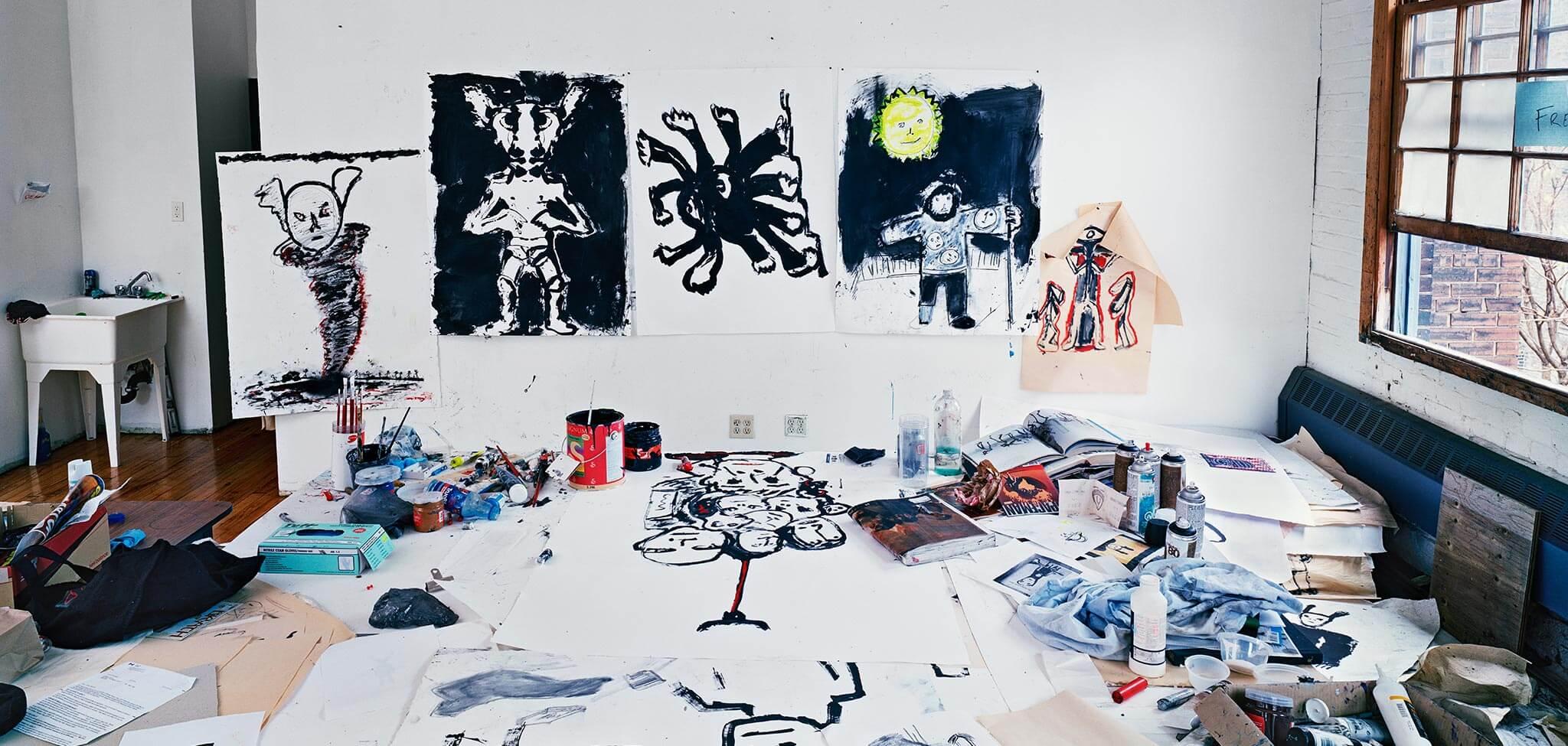 Art Gallery of Hamilton - Joseph Hartman: The Artist's Studio