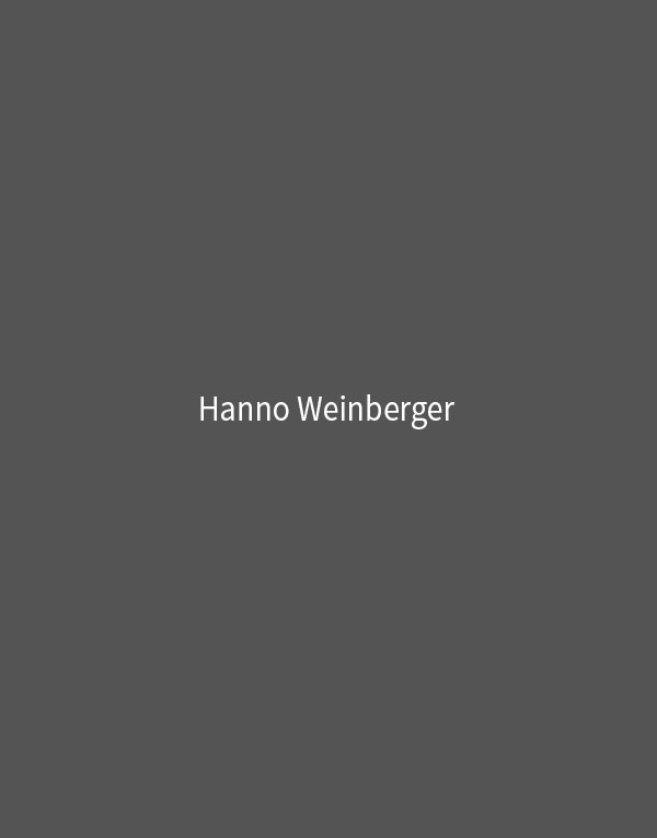 Hanno Weinberger