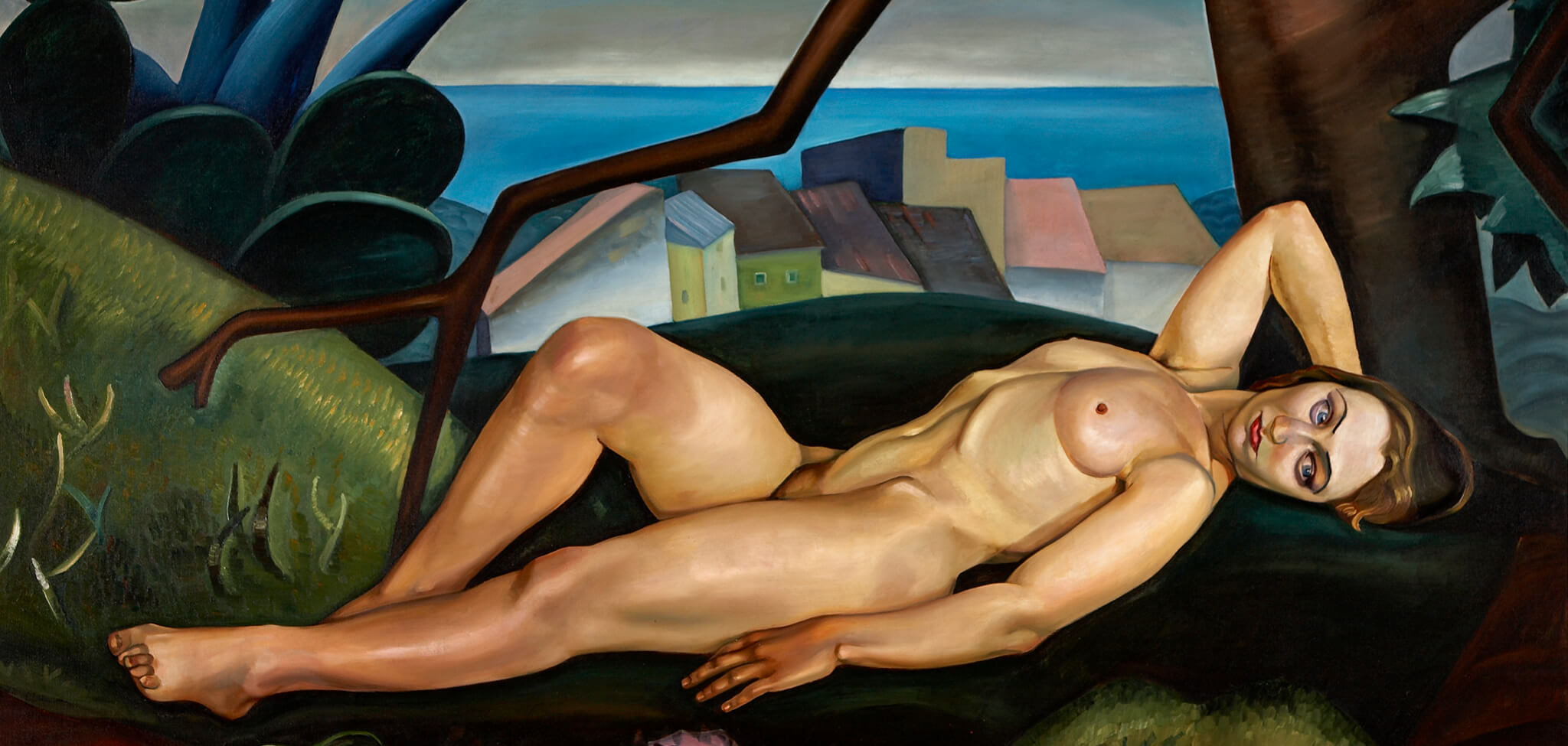Prudence Heward (Canadian 1896-1947) Girl Under a Tree 1931 oil on canvas Gift of the artist's family, 1961