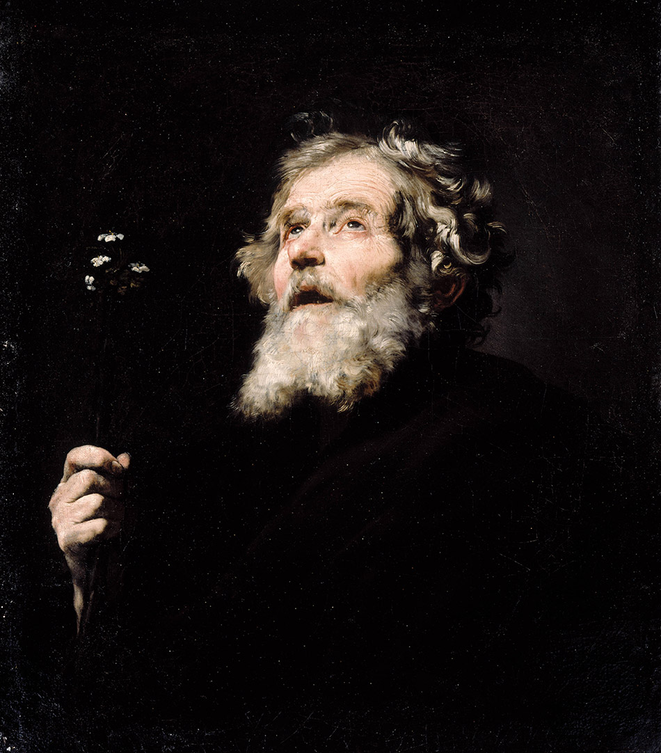 Jusepe Ribera, (1592 – 1652), <em>St. Joseph</em>, c. 1635, oil on canvas, 71.8 × 62 cm, Montreal Museum of Fine Art