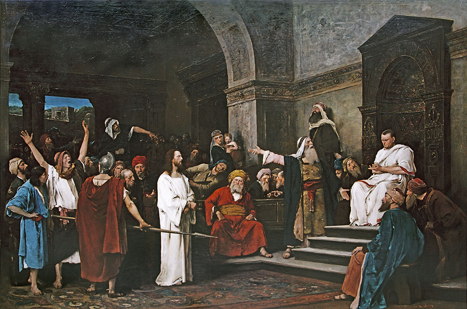 Mihály Munkácsy, Christ Before Pilate, 1881, oil on canvas
