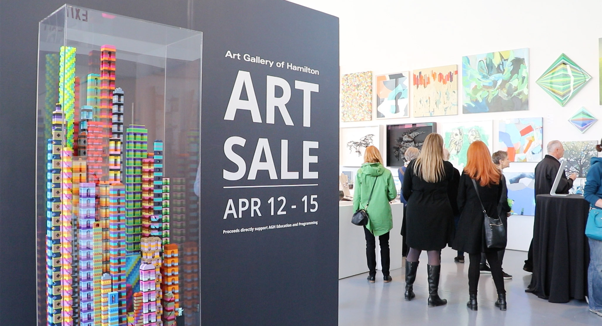 The AGH Art Sale Makes Owning Art Fun and Easy