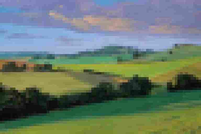 Landscape Painting Studio Class
