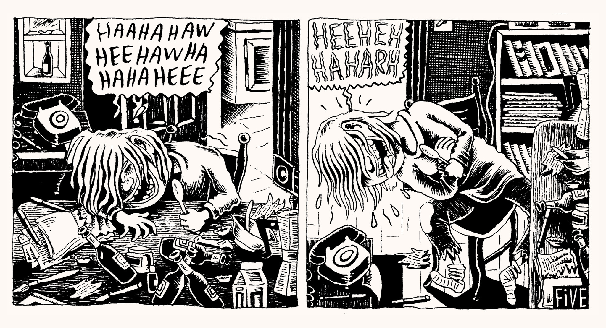 THIS IS SERIOUS Exhibition Showcase: Julie Doucet