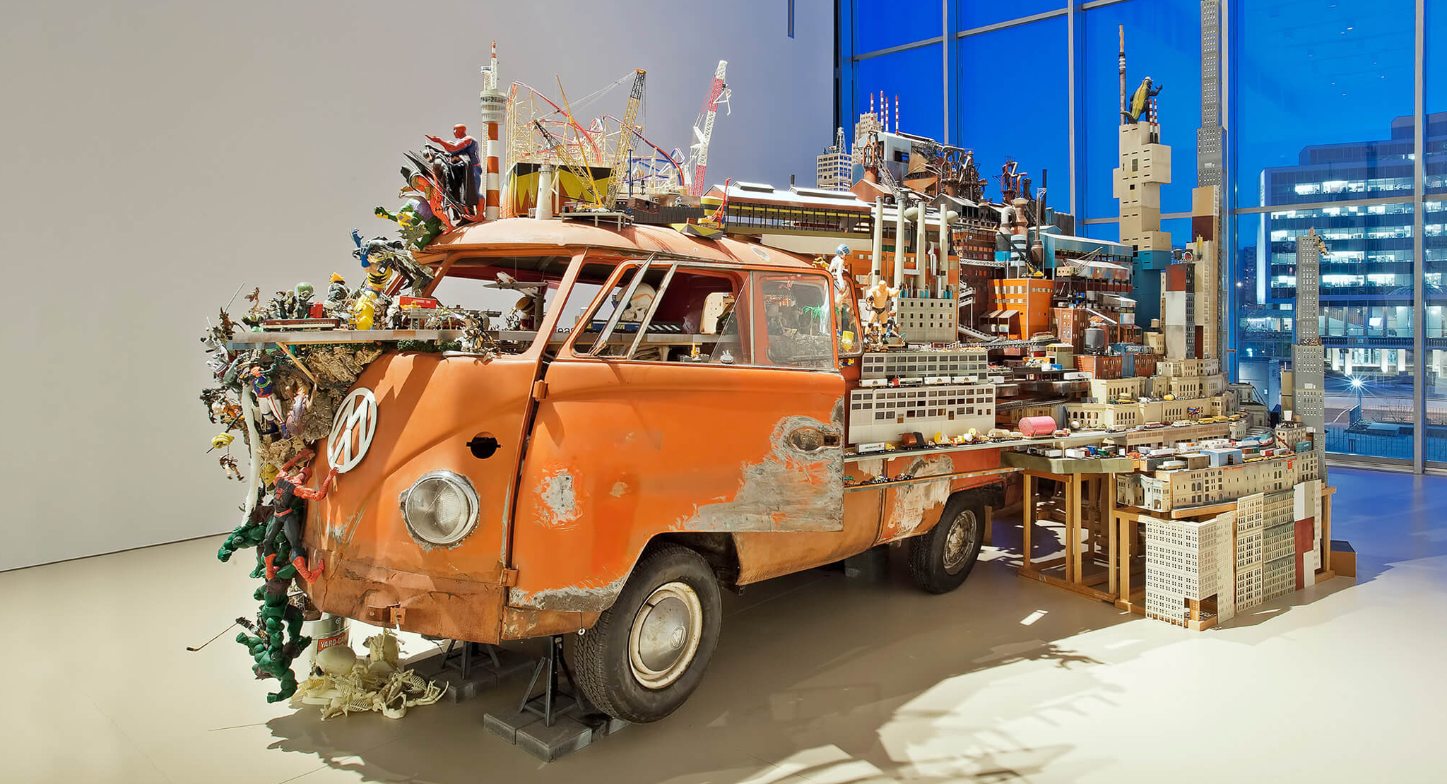 Collection Showcase: Kim Adams's Bruegel-Bosch Bus