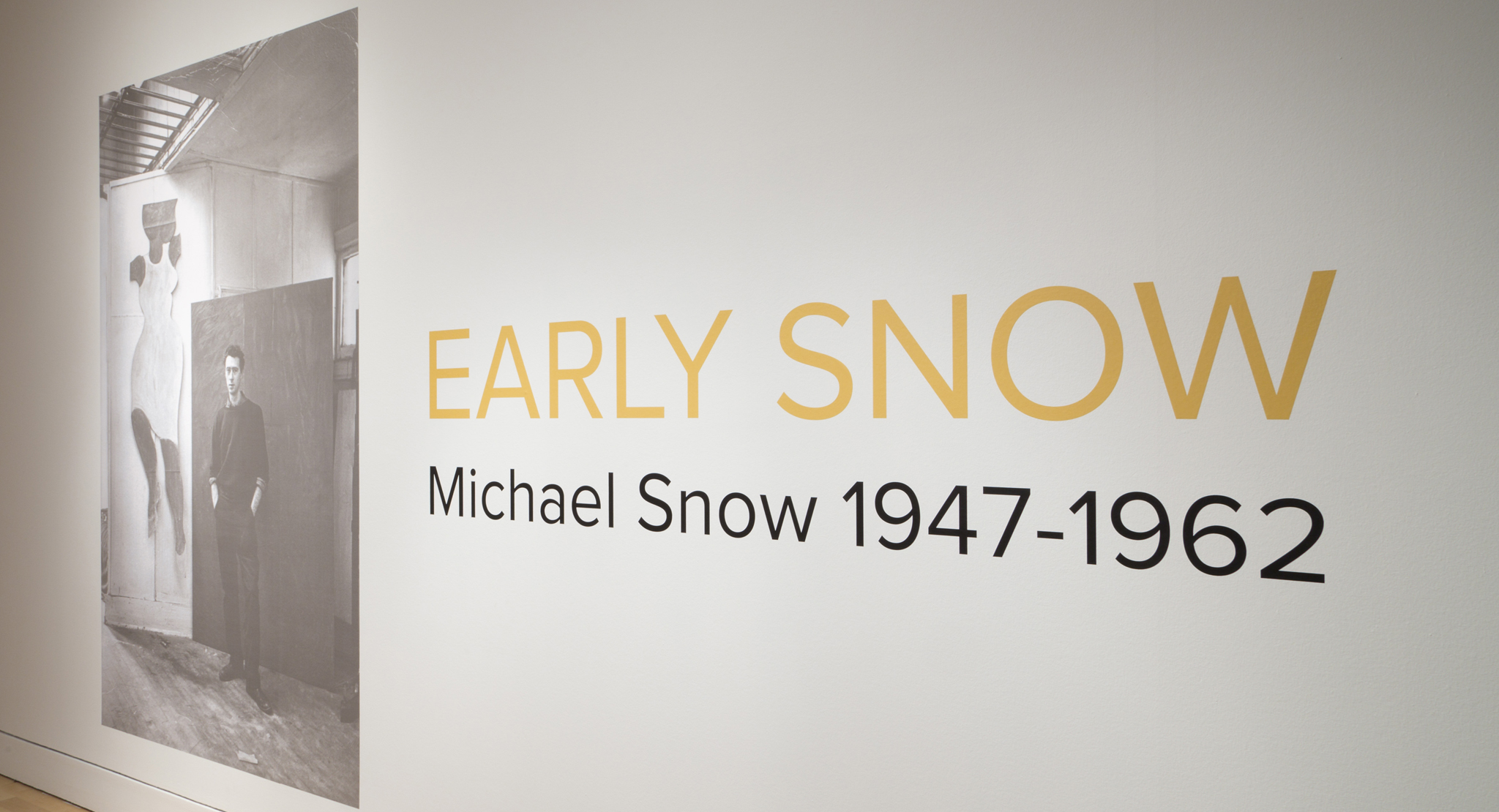 Snow in April: This Month in Michael Snow's History