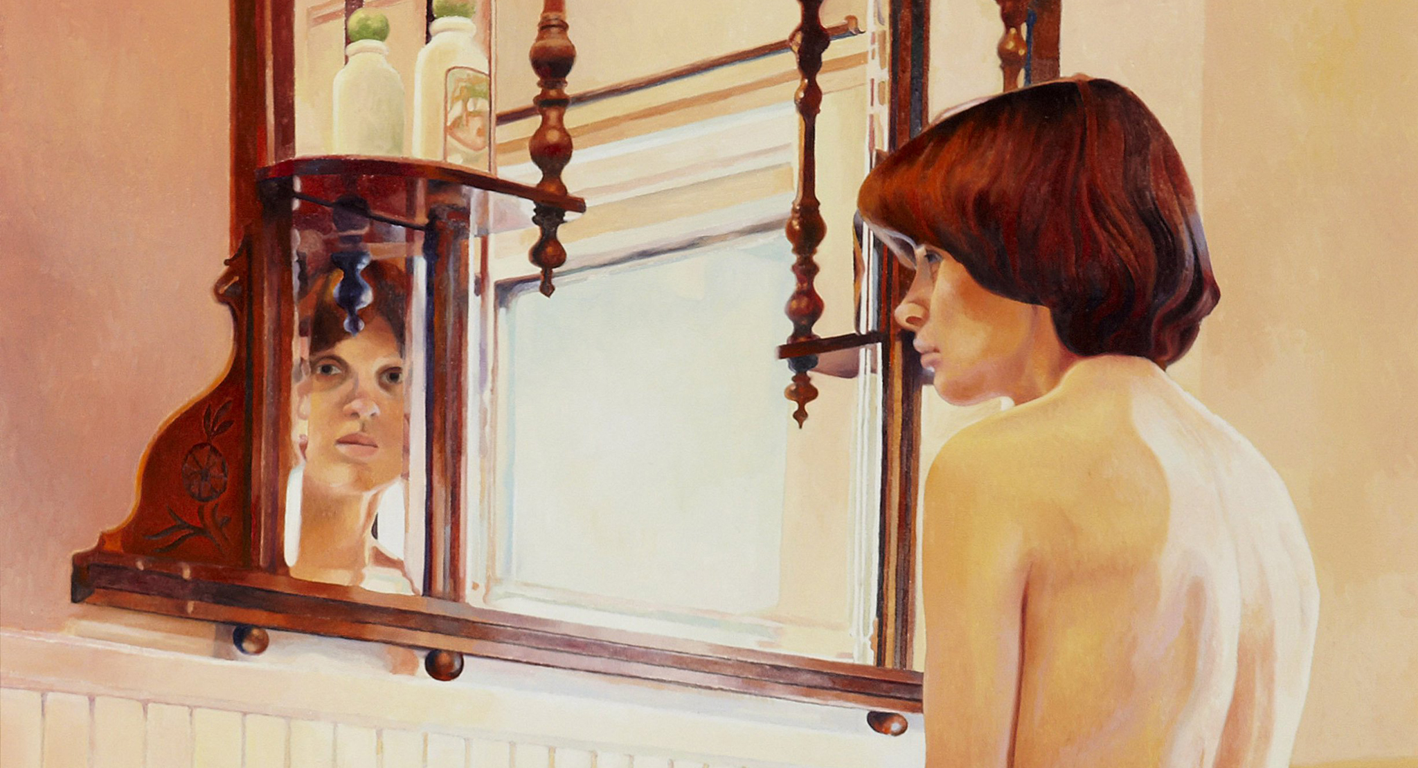 Collection Showcase: Mary Pratt's In The Bathroom Mirror